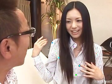 Slender Japanese hottie Aino Kishi enjoys riding a locate be beneficial to a stranger
